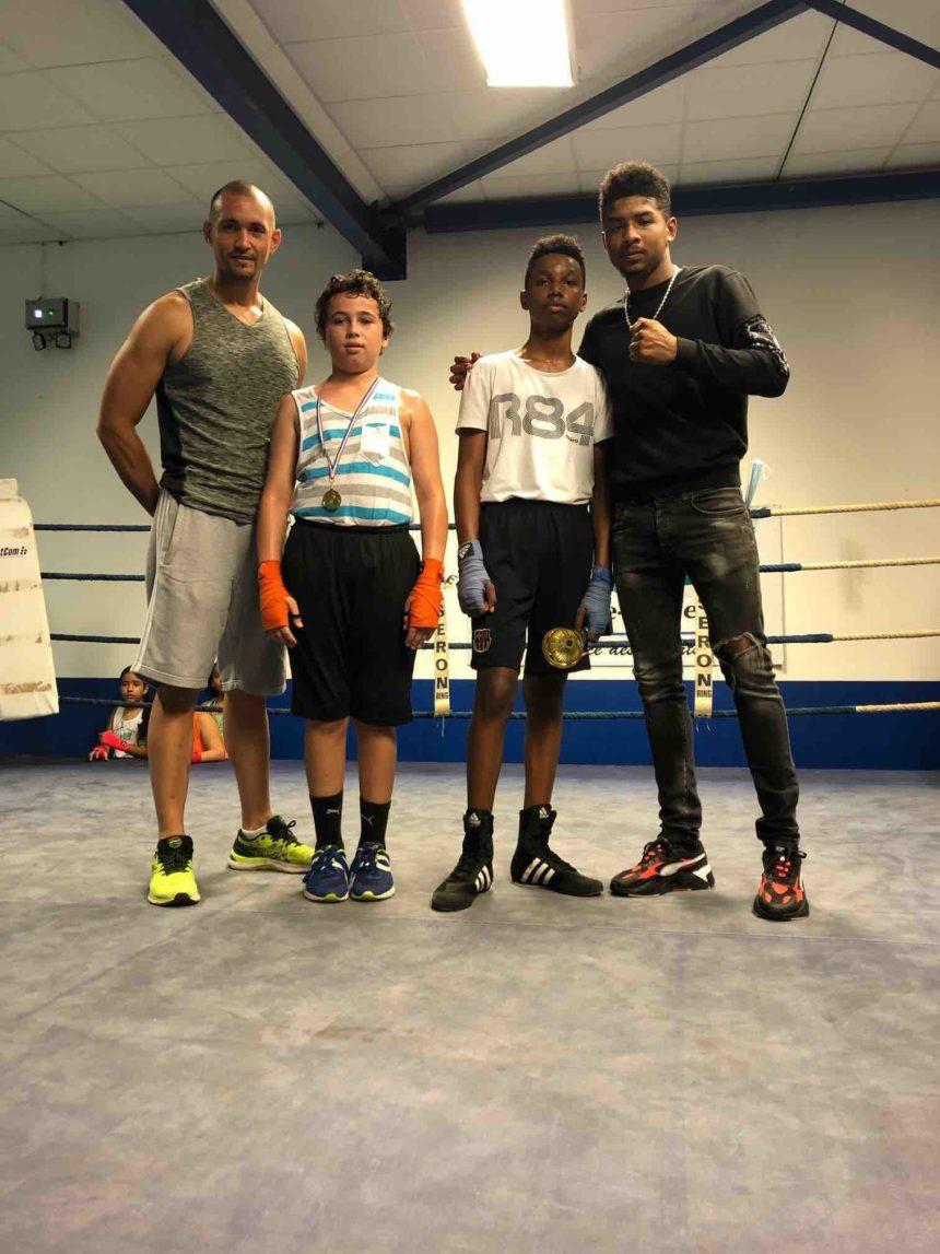 Inter-clubs de boxe éducative à Sainte-Marie