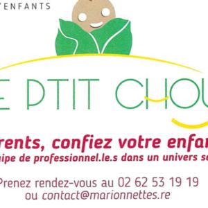 Des  places disponibles au Jardin d'enfants le Ptit Chou