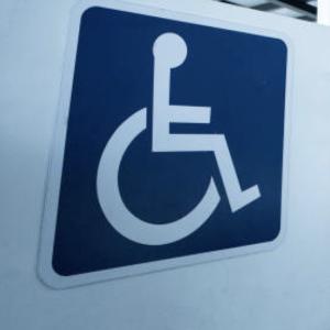 Stationnement pour personne handicapée