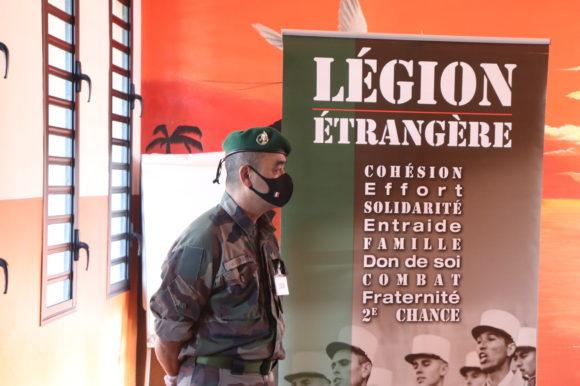 La légion étrangère au case des Gaspards