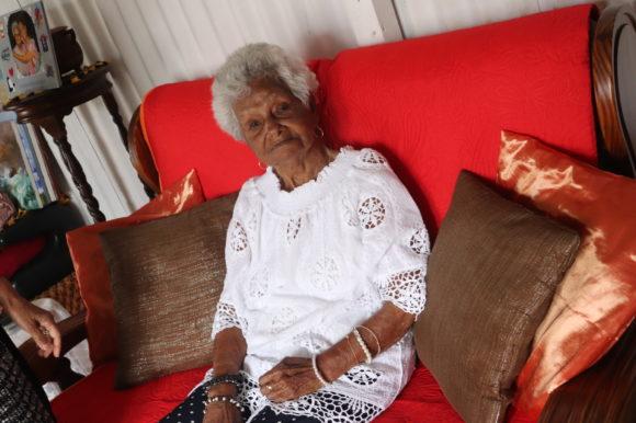 Florence Bourdageau, une centenaire à Beaumont