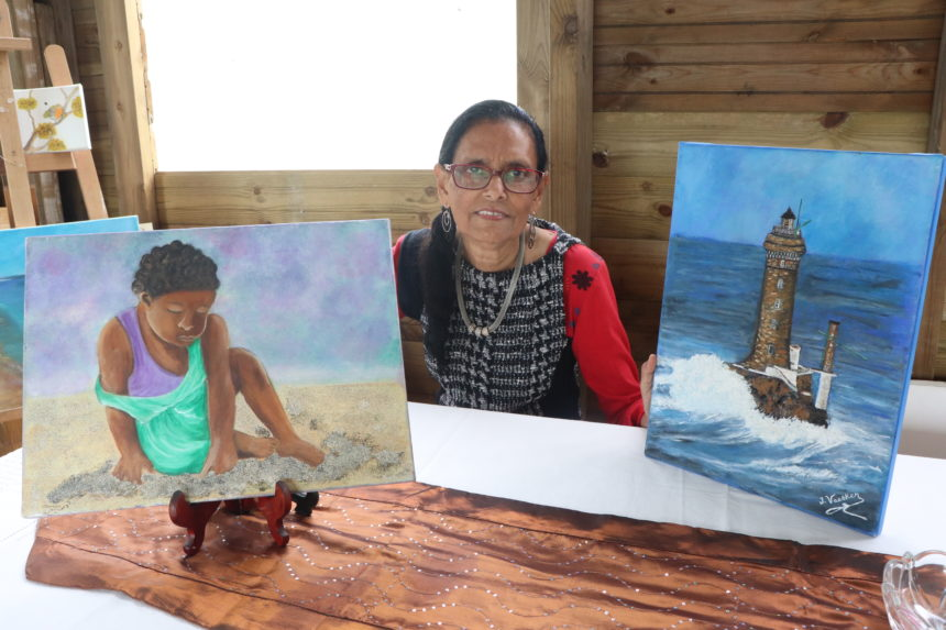 Portrait : Josette Vaesken, une passionnée de peinture