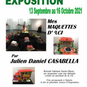 Exposition maquettes