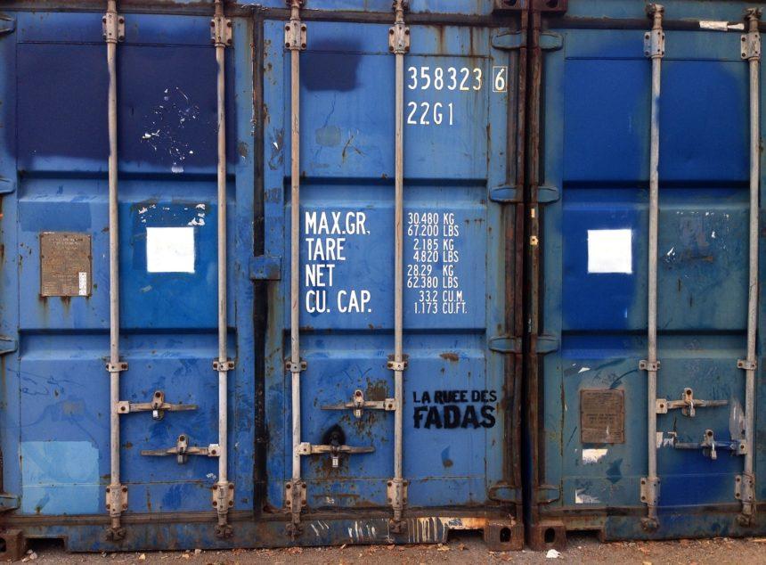 Arrêté pour pose d'un container